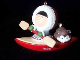 frosty friends 6 kayak nb hallmark ornament