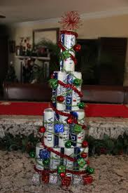 beer can christmas tree created this christmas tree out of full