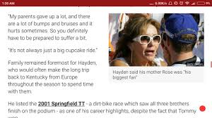 nicky hayden dies the backyard racer who conqu d the world youtube
