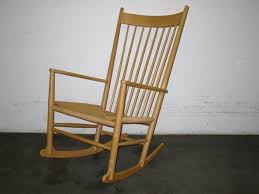 Modern Nursery Rocking Chair by Hans J Wegner J16 Rocking Chair By Fdb Mobler