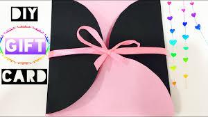diy gift card i easy handmade birthday card i the quirk u0026 chirpy