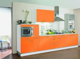 cuisine orange et gris organisation deco cuisine orange et gris