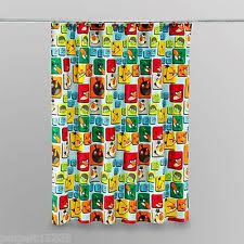 Curtains Birds Theme Angry Birds Curtains Ebay