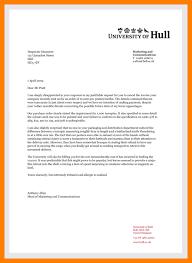 letter heading sample