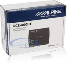 alpine kce 400bt kce400bt remote mount bluetooth interface for