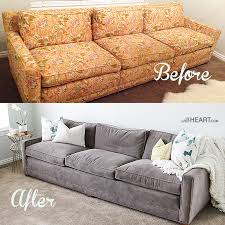 1970s Leather Sofa 28 Ways To Bring New Life To An Old Sofa Reupholster Couch