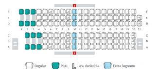 757 seat map seat maps seat selection travel info westjet com