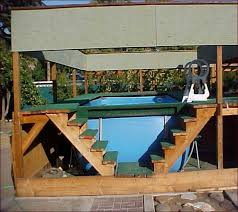 above ground design swiming pool design deck designs home design