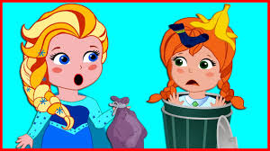Cleaning The House by Masha And Dora Forosen Eliza Cleaning The House Funny Prank Finger