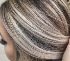 platinum blonde hair with brown highlights cool ash blonde against a neutral brown made the cut pinterest
