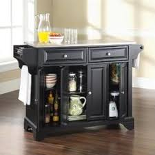 black kitchen island with stainless steel top stainless steel top kitchen cart island with optional stool