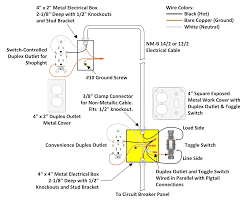 wiring diagram single pole switch combination also light