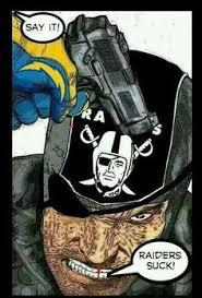 Chargers Raiders Meme - funny broncos parody logo unfan chargers broncos raiders chiefs