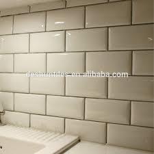 Kitchen Wall Ceramic Tile - 75x152mm kitchen wall decorative white ceramic tiles buy wall