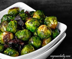 easy thanksgiving recipes maple bacon roasted brussels sprouts