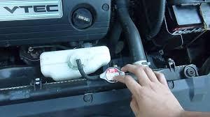 honda accord radiator fluid 2003 2007 honda accord radiator coolant location tips
