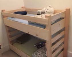 Bunk Bed Cribs Toddler Bunk Bed Do It Yourself Diy Plans Extended Size