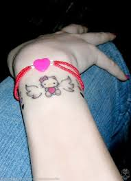 small hello kitty tattoo tattoomagz