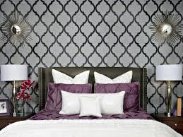 Blue And White Bedroom Wallpaper Grey Bedroom Wallpaper Geometric Wallpaper Wallpapers And Grey On