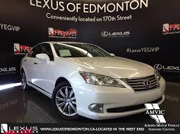 lexus toronto used used 2012 white lexus es 350 executive walkaround review drayton