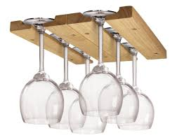 furniture creative hanging wine glass rack for home bar and