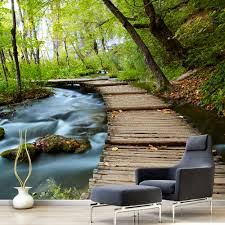 high quality modern desgin natural scenery photo 3d self adhesive high quality modern desgin natural scenery photo 3d self adhesive removable wall mural wallpaper papel mural para pared in wallpapers from home improvement