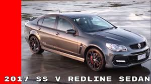 holden ssv 2017 holden commodore ss v redline sedan youtube