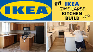ikea kitchen cabinets remodel diy ikea timelapse kitchen build 2020 complete before and after kitchen remodel in 4k