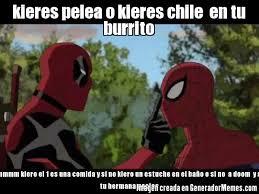 Memes En Espaã Ol Para Facebook - memes de deadpool callando a spider man galeria 35 imagenes graciosas