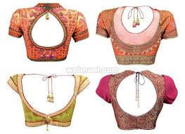 blouse pic backless blouse design by ps 3