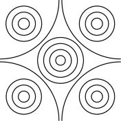 mandalas circles coloring free printable coloring pages