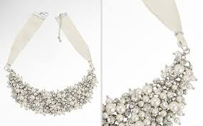 pearl necklace wedding jewellery images Wedding jewelry chunky bridal statement necklaces jpg