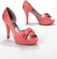 wedding shoes davids bridal a splash of vibrant color in coral satin wedding shoes wedding