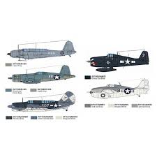 model air paint set wwii usn aircraft 71157