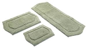Bathroom Rugs And Mats Amazon Com Chesapeake Merchandising 3 Piece Paradise Memory Foam