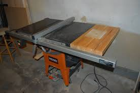 Ridgid Table Saw Extension Router Table For My New Ridgid R4511 By Adam Lumberjocks Com