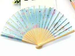 held folding fans buy held bamboo folding fan wedding favor style craft
