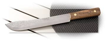 hickory kitchen knives ontario hickory butcher knife agrussell