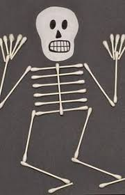 Kids Halloween Crafts Easy - halloween kid crafts close close skeleton craft and skeletons