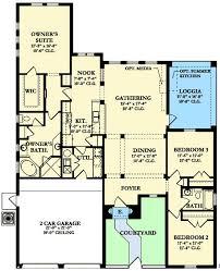 Mediterranean House Plans With Courtyard 69 Best House Plans One Day Images On Pinterest House Floor