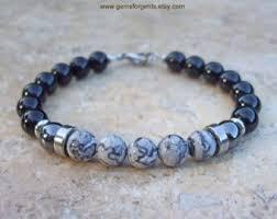 mens bracelet beads images Mens beaded bracelet etsy jpg
