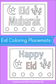 coloring placemats busy eid coloring placemats sand in my toes