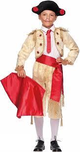boys gold matador fancy dress costume fancy me limited