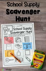 printable halloween scavenger hunt supply scavenger hunt simply kinder