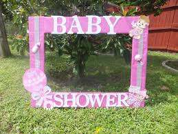 baby shower frames baby shower for girl photo frame cuadro tematico made by thelma
