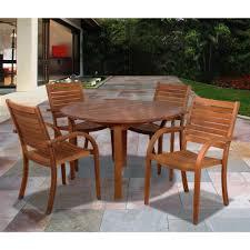 eucalyptus wood dining table eucalyptus patio dining furniture patio furniture the home depot