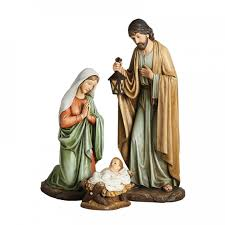 holy family outdoor figures leaflet missal
