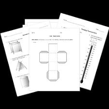 printable high math tests and worksheets grades 9 12