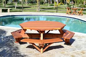 folding picnic table bench combo outdoor wooden tables benches