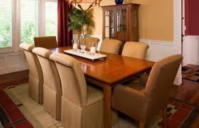 dining built in cabinets and wood furniture for neutral